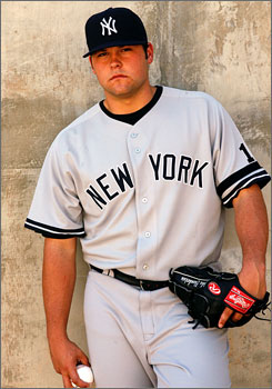 Joba Chamberlain of the New York Yankees