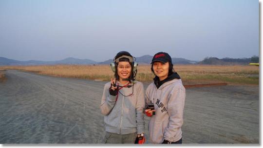 2008. 04. 27 초경량비행일지 (장주비행 / 본격적인 이착륙)