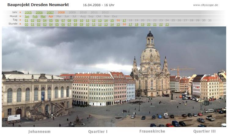 Dresden Neumarkt, 2008