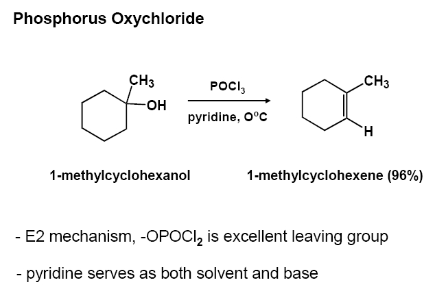 Think More Than You Are Dehydration Of Alcohol By Pocl3pyridine