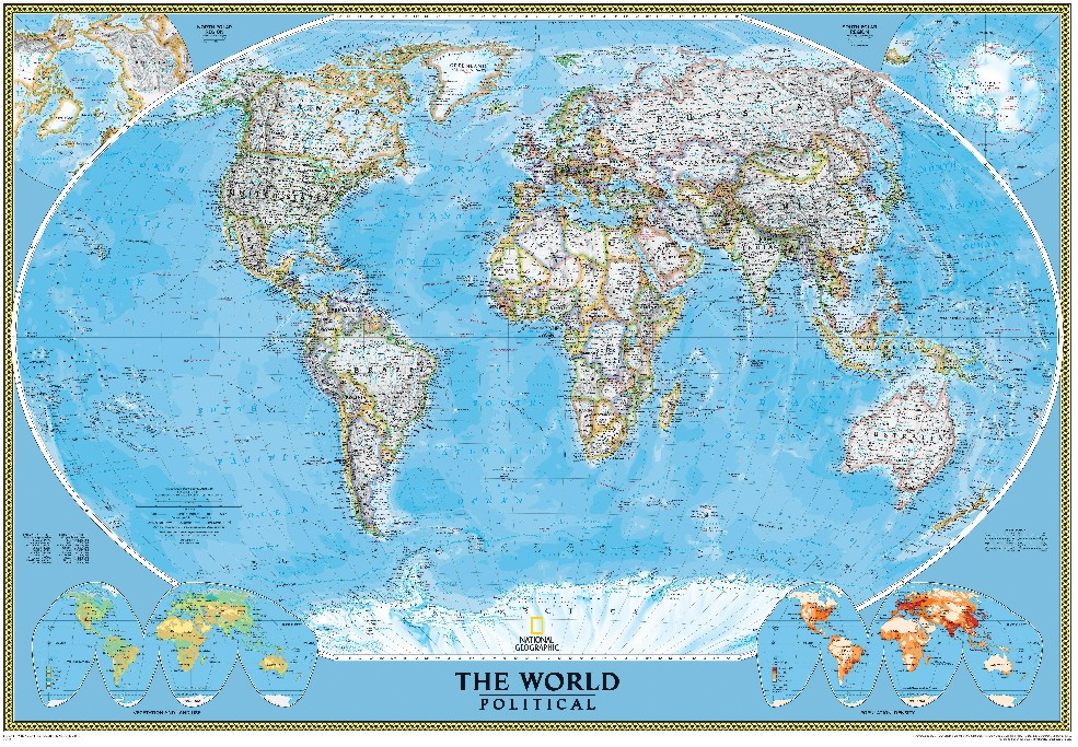 Lo911 todo blog national geographic - Mapa mundi mural ...