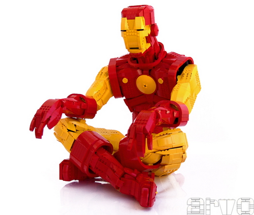 Aeon season 2 lego for Maison d iron man