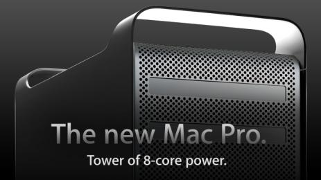 새로운 8-core Mac Pro 출시!