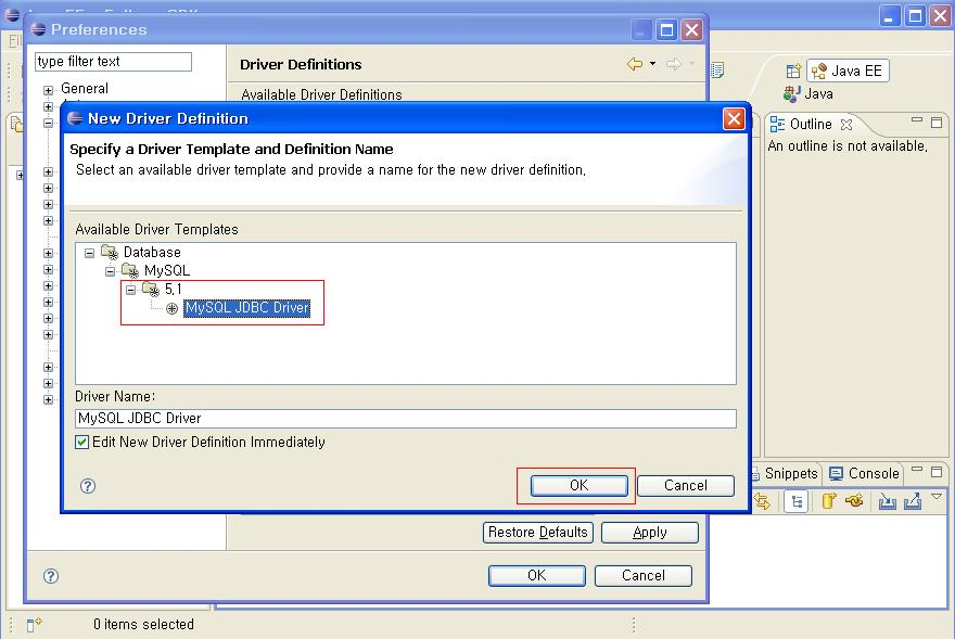 jdbc using mysql Learn example program to list databases in mysql server using java and jdbc show databases is the sql query executed to get the list of databases.