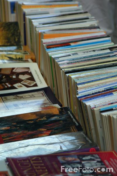 Book Fair, South Bank, London, England