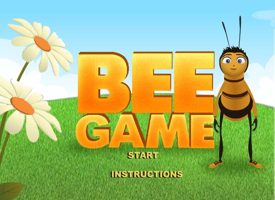 꿀벌대소동게임