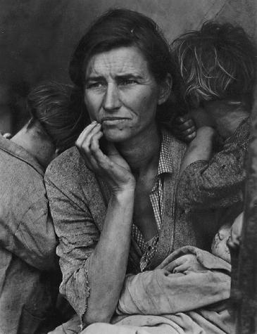 Migrant Mother; Nipomo, California, 1936