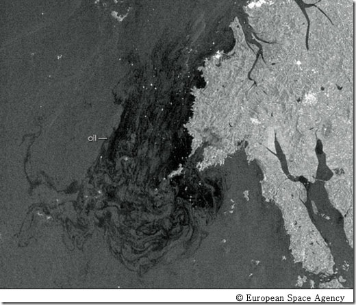 태안 앞바다 위성 사진