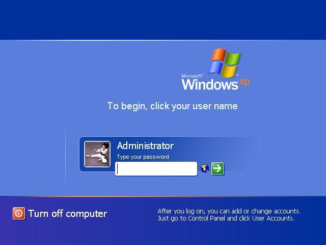 Как сделать администратора в windows xp