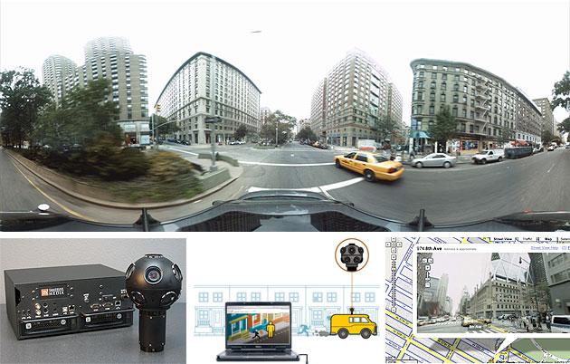 스트릿뷰 촬영 카메라